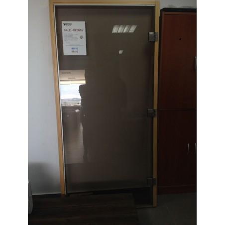 Puerta Sauna DGM 101-210 Abeto Cristal Tintado