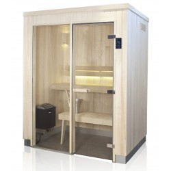 Sauna EVOLVE Plus 1414 GF Aspen
