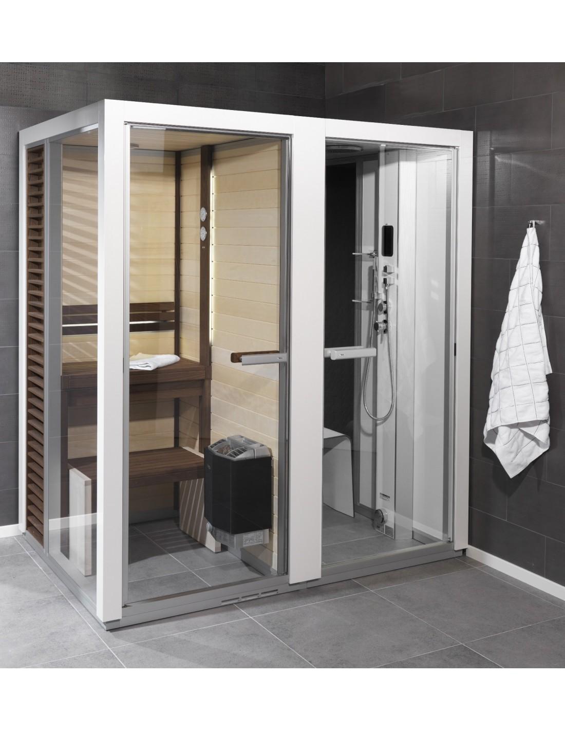 Cabina sauna y ducha de vapor - Cabina ducha sauna ...